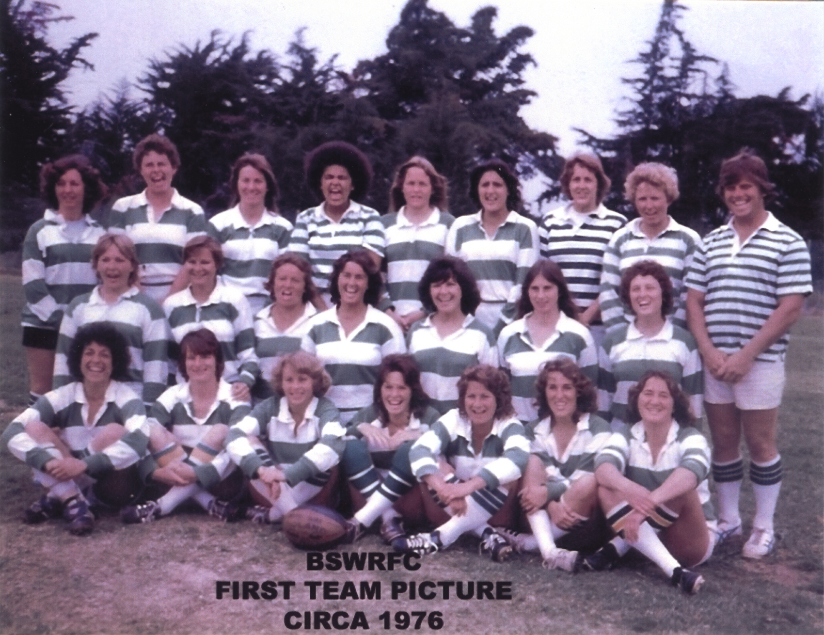 Belmont Women's Team 1976